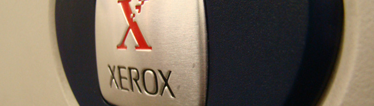 Close up of Xerox
